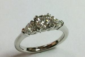 ダイヤモンド指輪のリフォーム アフター